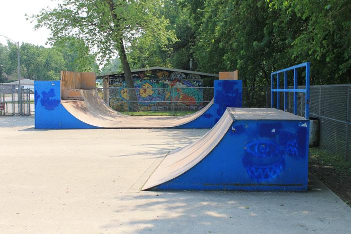 extreme scene skate park homewood flossmoor park district